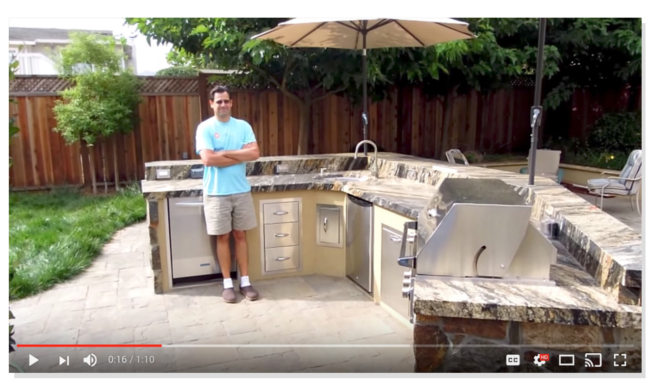 Unlimited Outdoor Kitchen Design Center In San Jose Ca Home