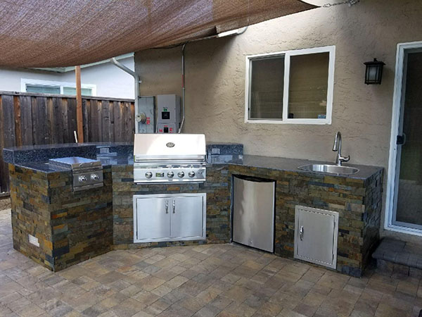 Unlimited Outdoor Kitchen San Jose Ca - Image Fireplace and Kitchen ...