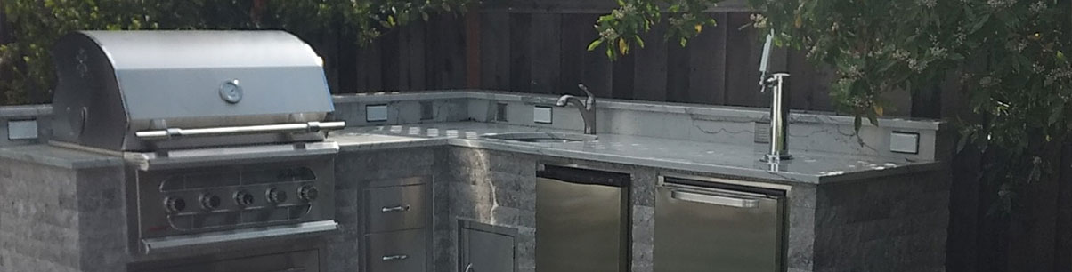 Parker Outdoor Kitchen - Menlo Park CA
