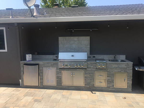 Custom Outdoor Kitchen In San Jose Ca Unlimited Outdoor
