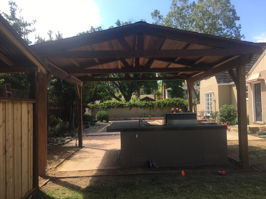 Barbecue Island And Pergola In San Jose Ca Unlimited